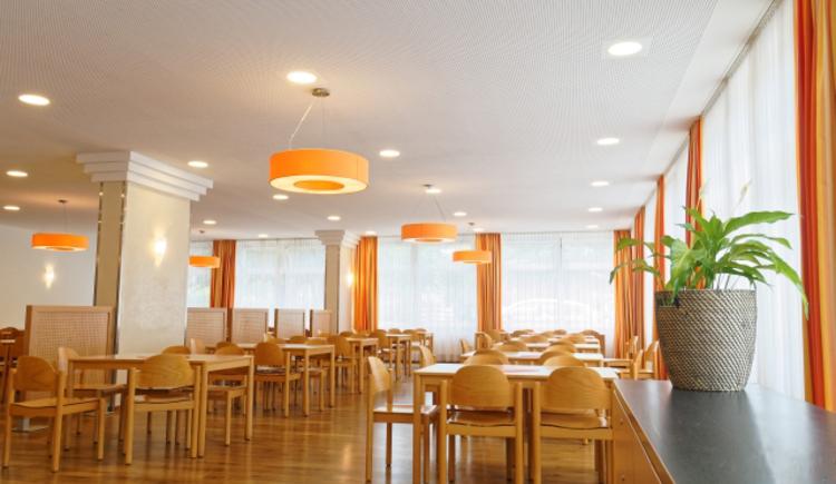 Speisesaal Jugendgästehaus Bad Ischl. (© OÖJHV_Sammer)