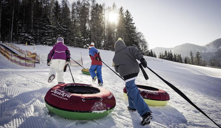 Snowtubing (© Waldhofalm)