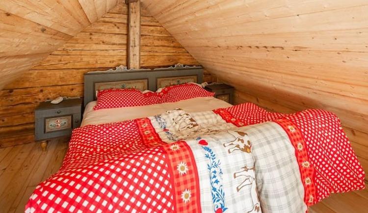Schlafzimmer. (© Troadkasten Molln)