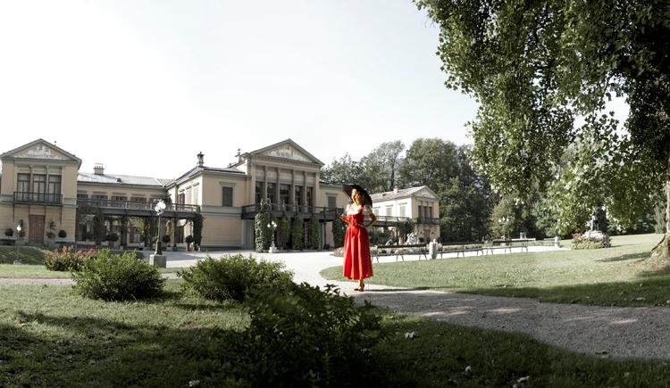 Die Kaiservilla in Bad Ischl,  das Hochzeitsgeschenk an Kaiserin Elisabeth. (© Foto Stadler)