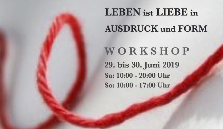Plakat des Workshops