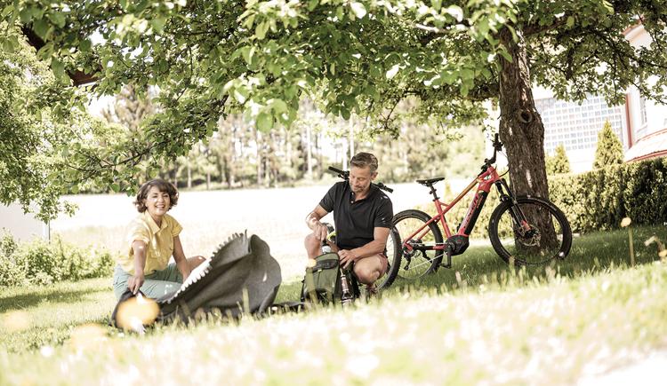 Picknick mit dem Rad (© BERGERGUT Pürmayer GmbH)