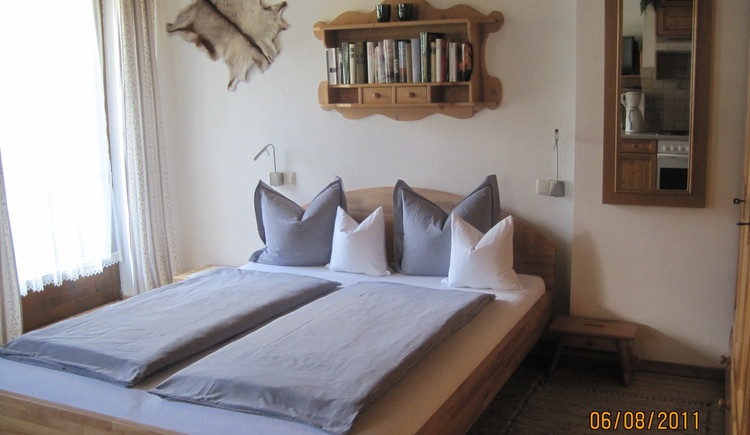 Schlafzimmer. (© Vierthaler Johanna)