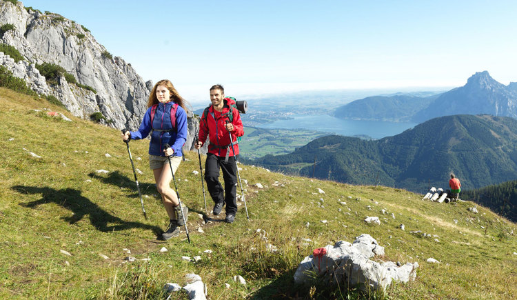 Wandern am Feuerkogel (© Oberösterreich Tourismus GmbH_bildstadt)