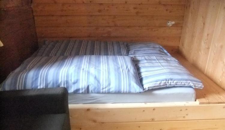 Doppelbett (© Ascher Hütte)