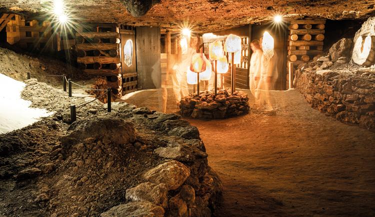 Salzkristallkammer (© Salzwelten/Bergauer)
