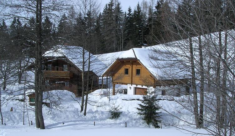 Blockhaus Koglerhütten (© Margarete Gösweiner)