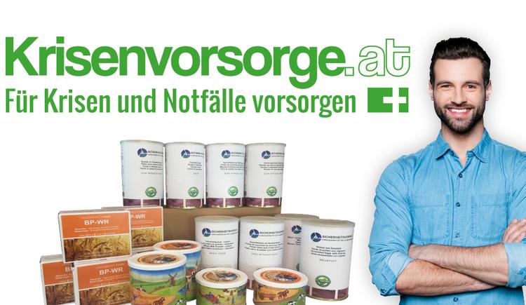 Logo Krisenvorsorge.at Versand und Shop in St. Georgen im Attergau.