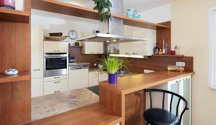 Küche in der Ferienwohnung Hirscherl (© Kornek)