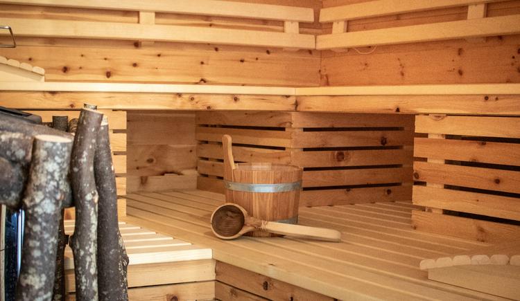 Die Sauna steht allen Gästen zur Verfügung. (© Ferienregion Dachstein Salzkammergut)