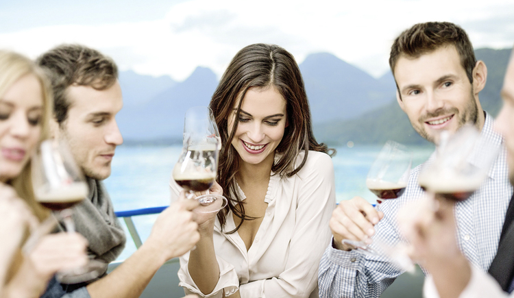 Beer and Dine am Wolfgangsee. (© Wolfgangsee Schifffahrt)