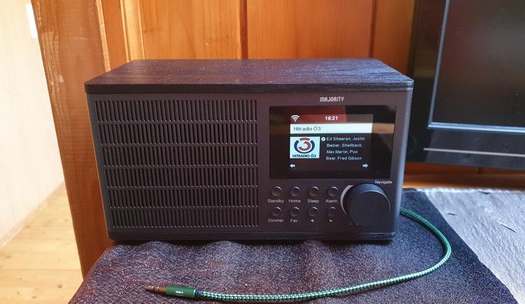 FeWo 3 - Internet Radio (© Landhaus Osborne)