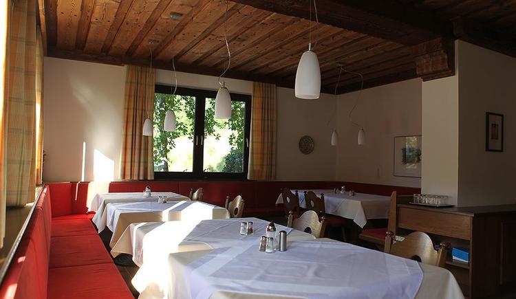 Frühstücksraum Hotel Garni Wallner Hinterstoder (© Wallner)