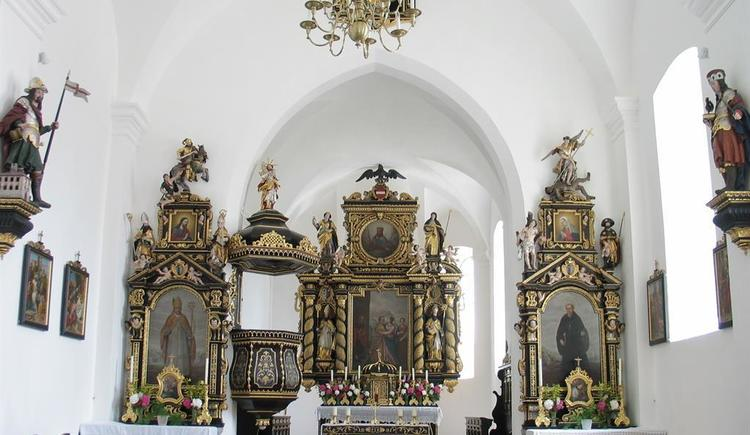 St. Wolfgang mit Altar (© Bernhard Krenn)
