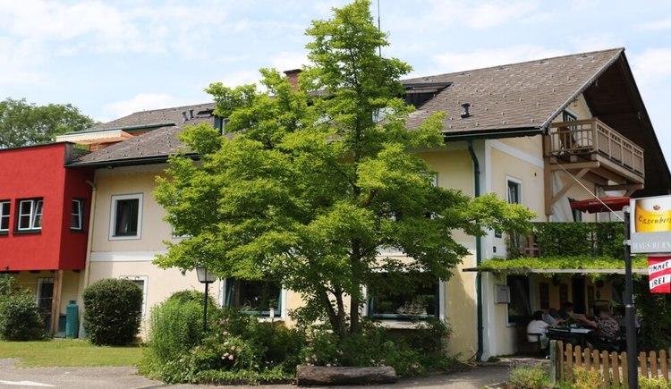 Gast Haus Berndt Parkplatz Attersee Aufham