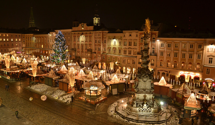 Advent am Linzer Hauptplatz (© LinzTourismus_LE_2010)