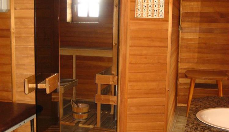 Sauna (© Privat)