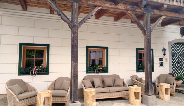 Gastgarten Lounge (© Andrea Bergbaur)