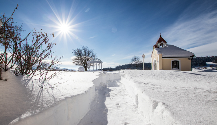 BERGERGUT-Kapelle im Winter (© BERGERGUT Pürmayer GmbH)