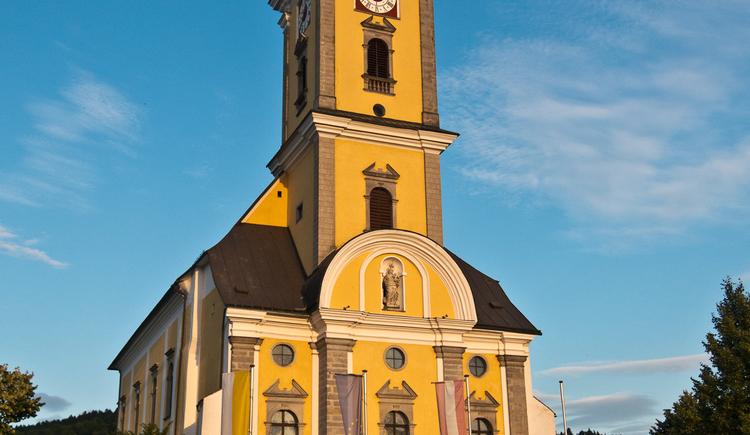 Stiftskirche Waldhausen im Strudengau (© WGD Donau Oberösterreich Tourismus GmbH/Kranzmayr)