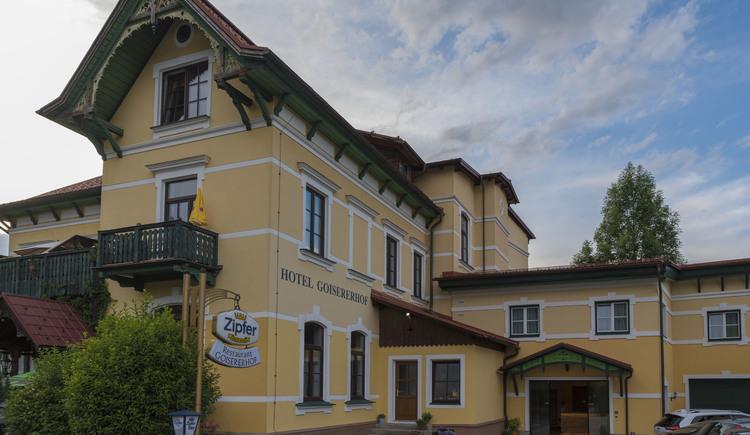 Hotelansicht. (© Hotel Goisererhof)