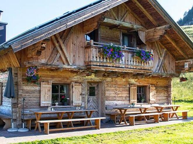 Posch´n Hütte (© Familie Josef und Kerstin Steinberger)
