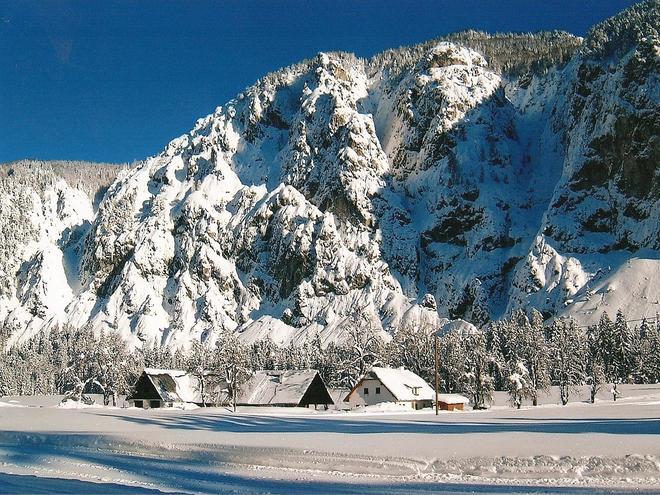 Polsterlucke im Winter (© Gemeinde Hinterstoder)