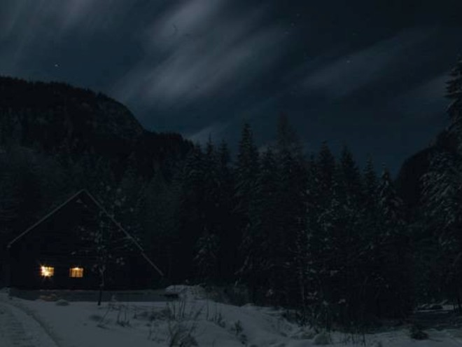 Sulzaustube-Winter-Nacht (© Stephan Lipp)