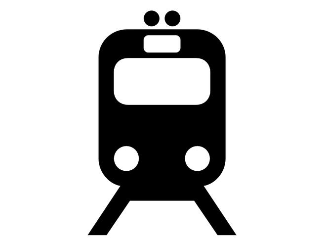 Bahnhof Piktogramm (© TVB)
