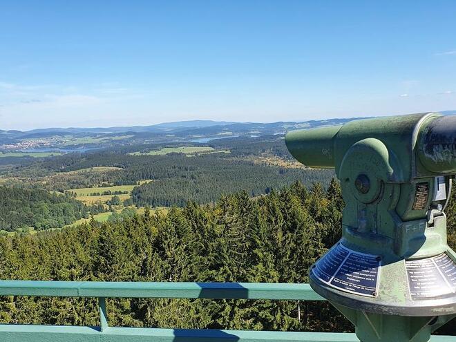 Aussichtsturm Moldaublick (© Maria Felhofer | Ferienregion Böhmerwald)