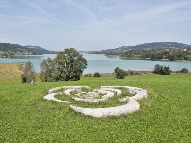 Land-Art Irrsee Mondsee Salzkammergut (© Tourismusverband MondSeeLand)