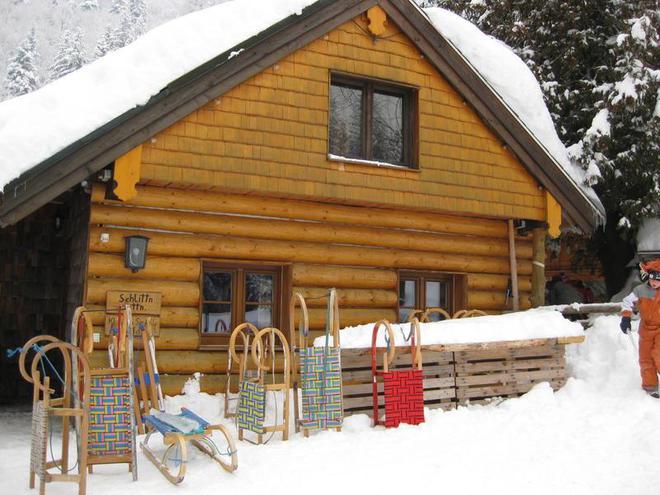 Schlittenhütte in Faistenau