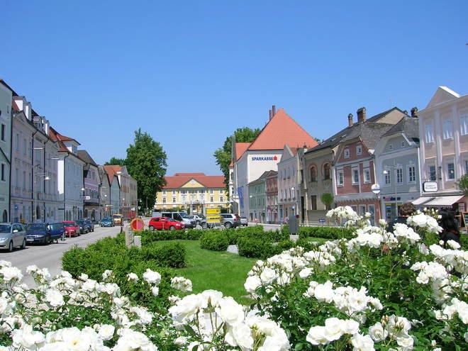 Stadtplatz Eferding (© Tourismusverband Eferding)