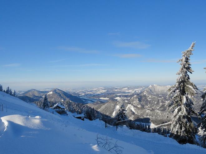 Winter am Zwölferhorn (© Teichmeister)
