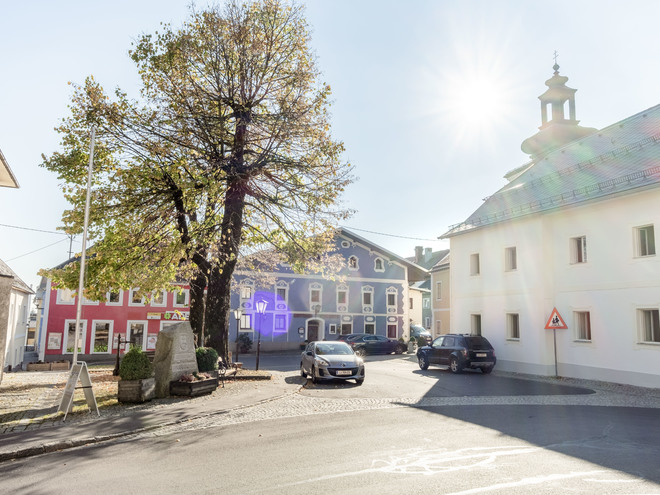 Ortsplatz Pfarrkirchen (© Stöbich)
