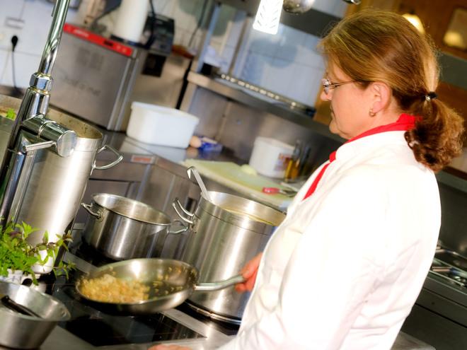 Küche (© Hotel Weiss)