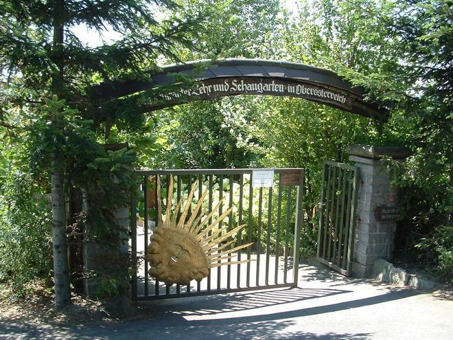 Kräutergarten Eingang (© Kräutergarten Klaffer am Hochficht)