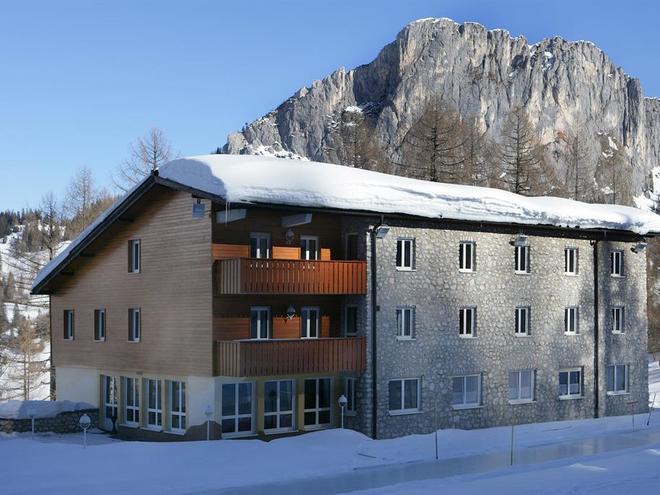 Jugendhaus Wurzeralm im Winter (© Land OÖ/Linschinger)