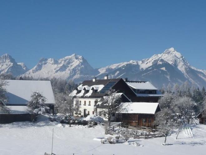 Winter am Familienbauernhof Grossgrub