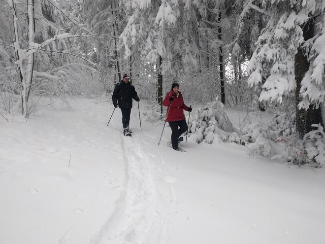 Schneeschuhwandern in Pfarrkirchen (© TV Pfarrkirchen)