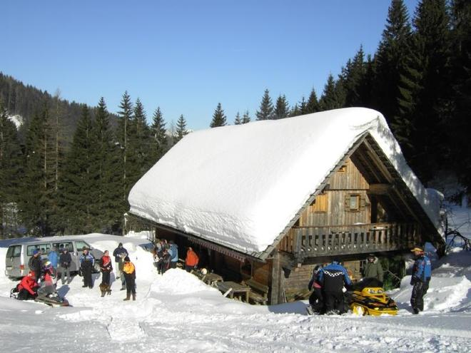 Stefansbergalm im Winter