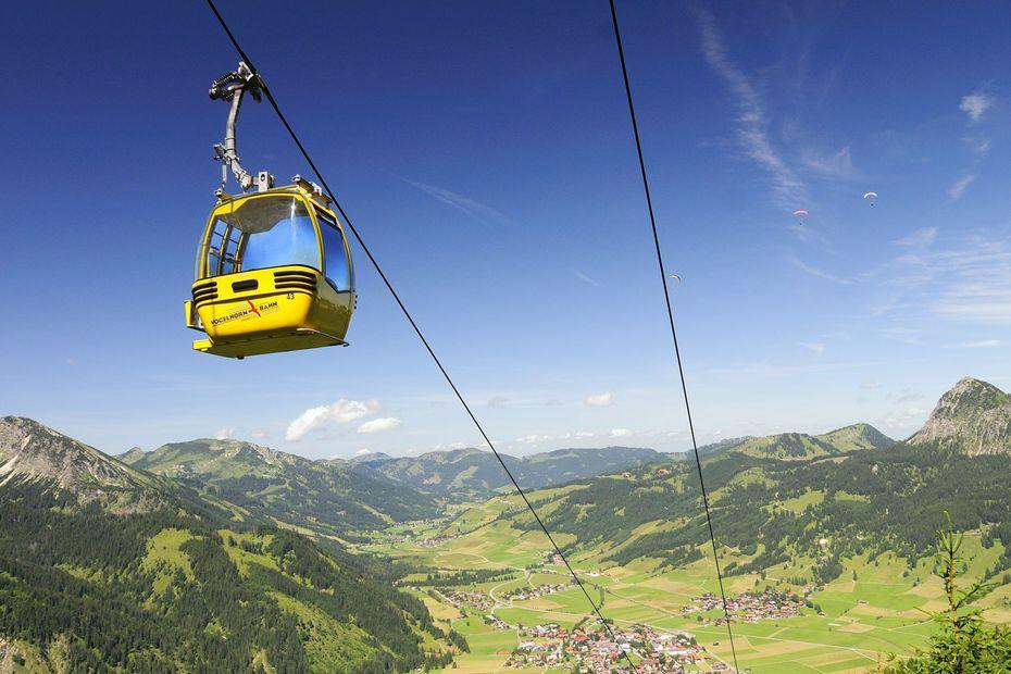 Das Ski- und Wandergebiet Tannheim Neunerköpfle
