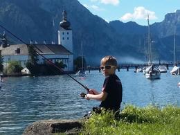 Fischen am Traunsee