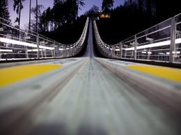 FIS Skisprung Damenweltcup am 31.01. und 01.02.2015 in Hinzenbach