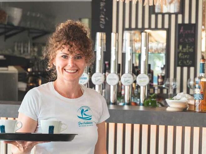 Strandbuffet, Strandcafé