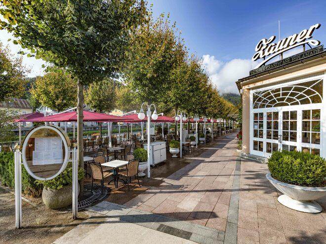 Grand-Café u. Restaurant Zauner Esplanade
