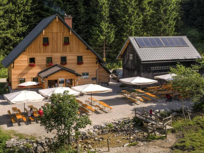 Bosruckhütte - Schutzhütte