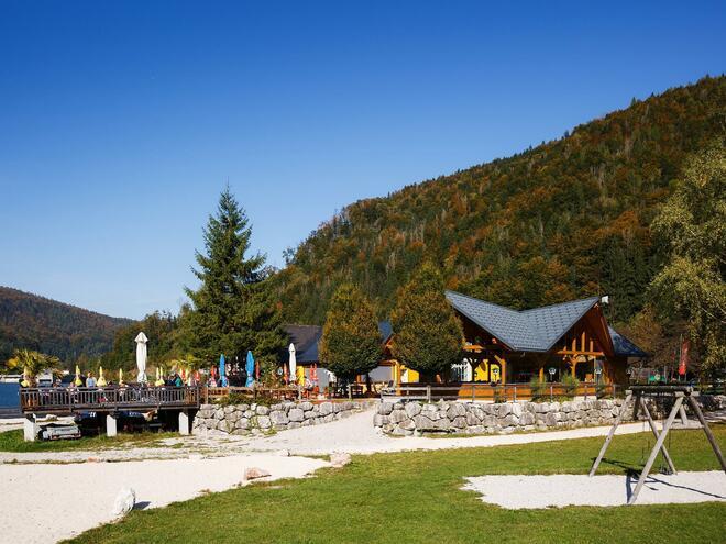 Gasthaus Seeblick am Stausee in Klaus