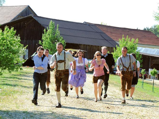 Bauernolympiade am Loryhof