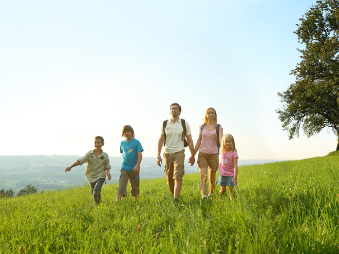 Familiensommer im Böhmerwald (© OÖ Tourismus/Röbl)